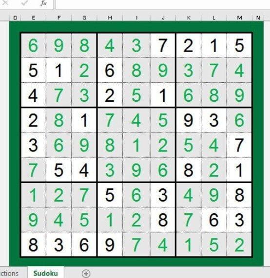 Excel Tetris min