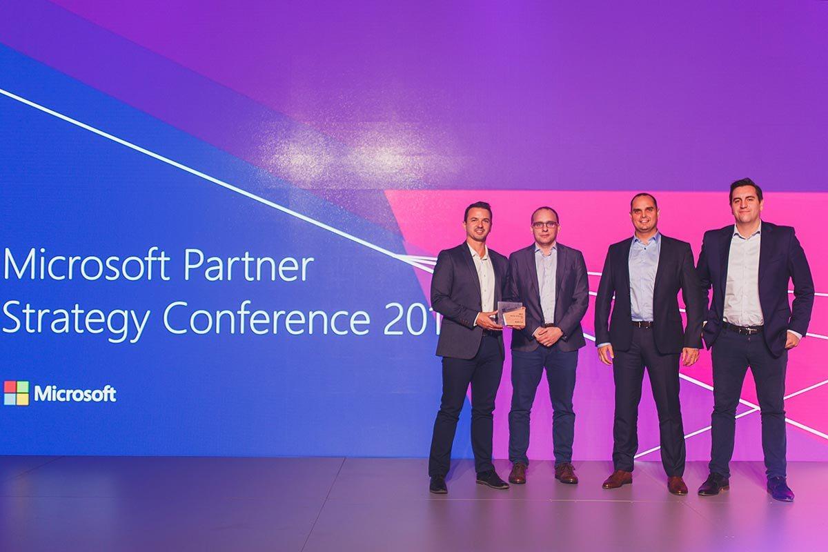 Senetic Partnerem Roku Microsoft 2017