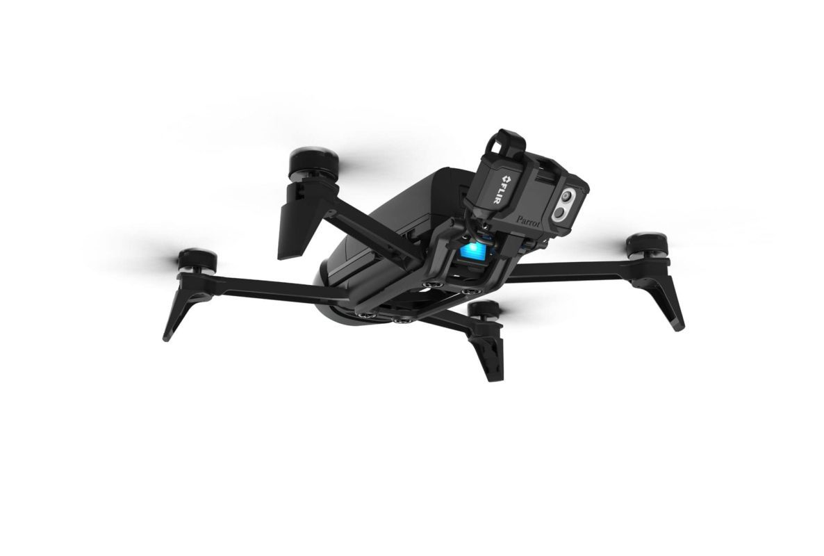 Dron BEBOP PRO THERMAL Safety