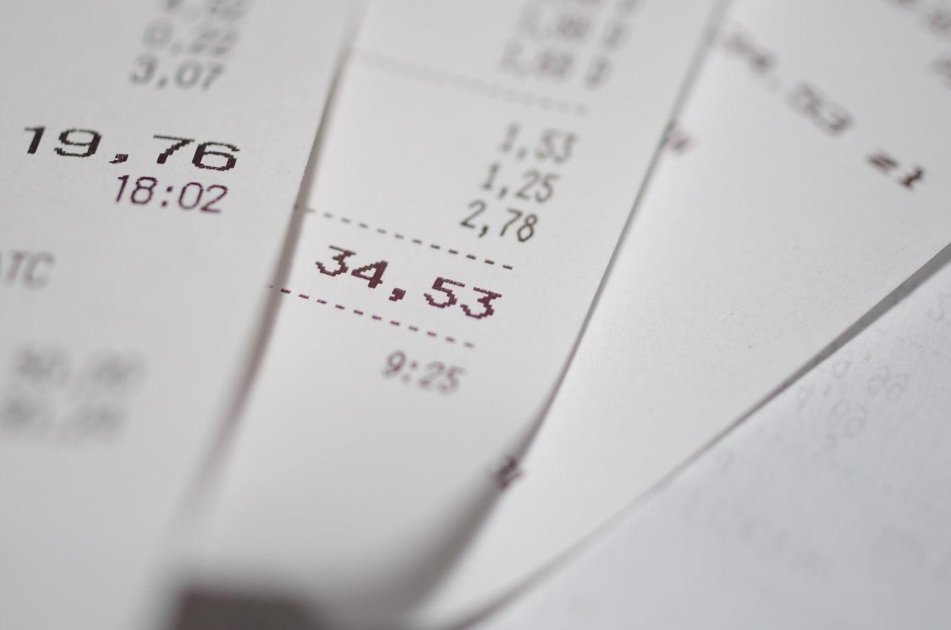 paragon, faktura, podatki, księgowość