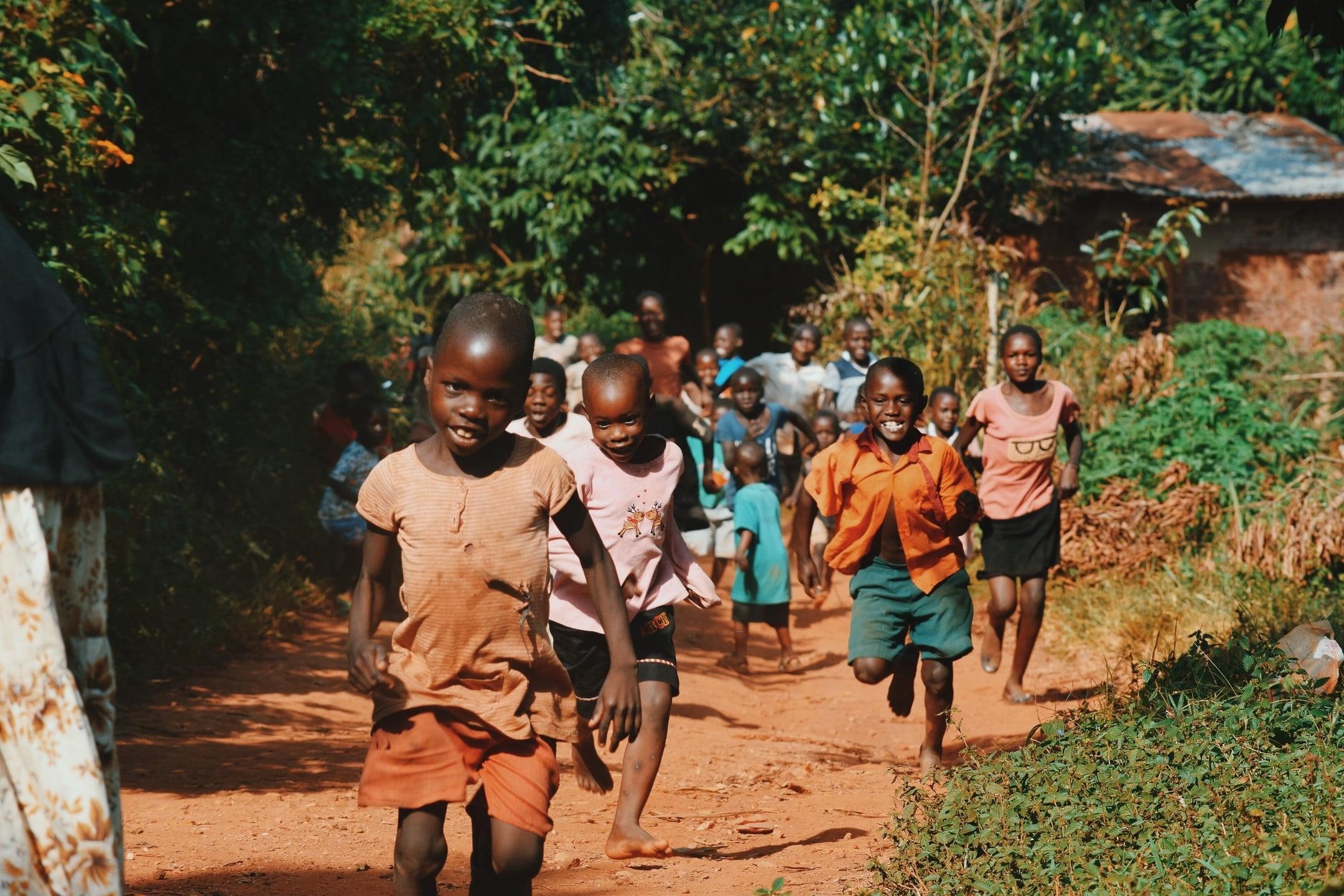 afryka, dzieci
