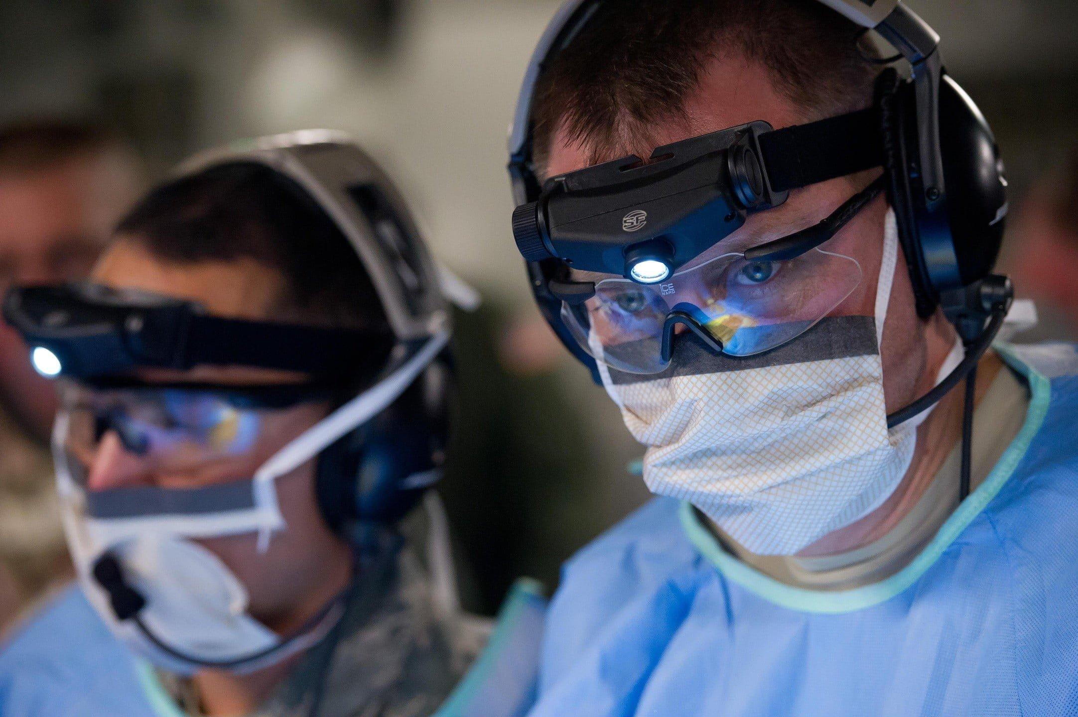 lekarz, badanie, wirus, medycyna, maska