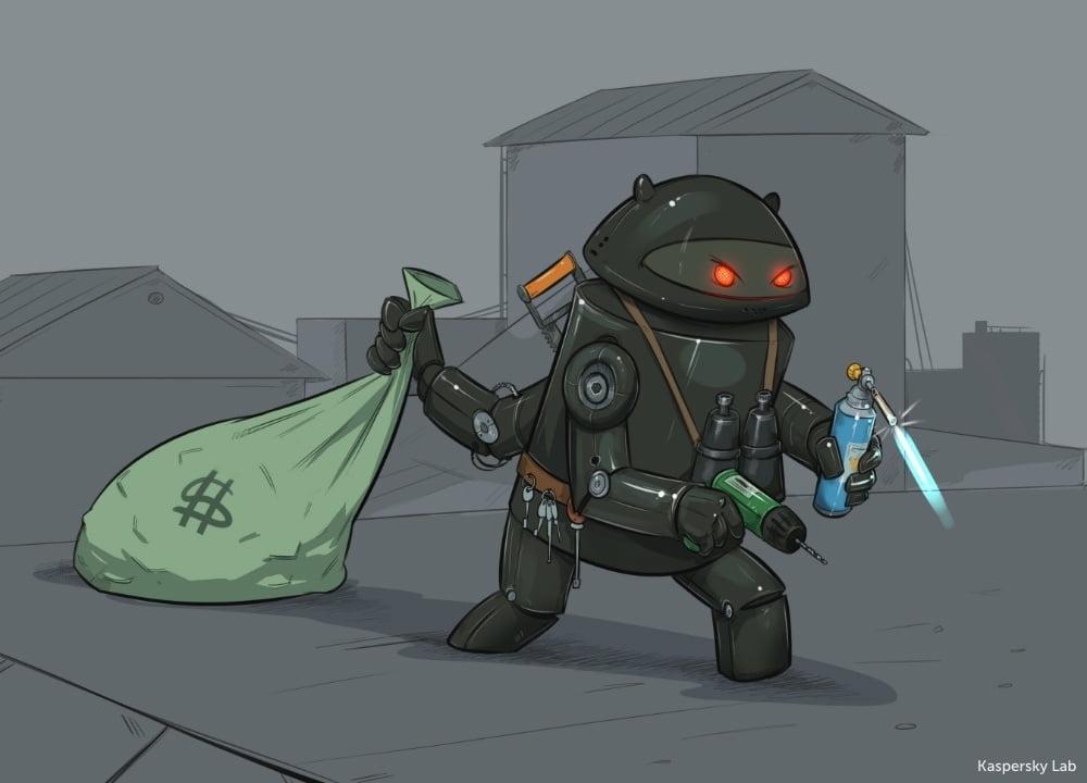 cyberbezpieczeństwo, android, trojan, kaspersky