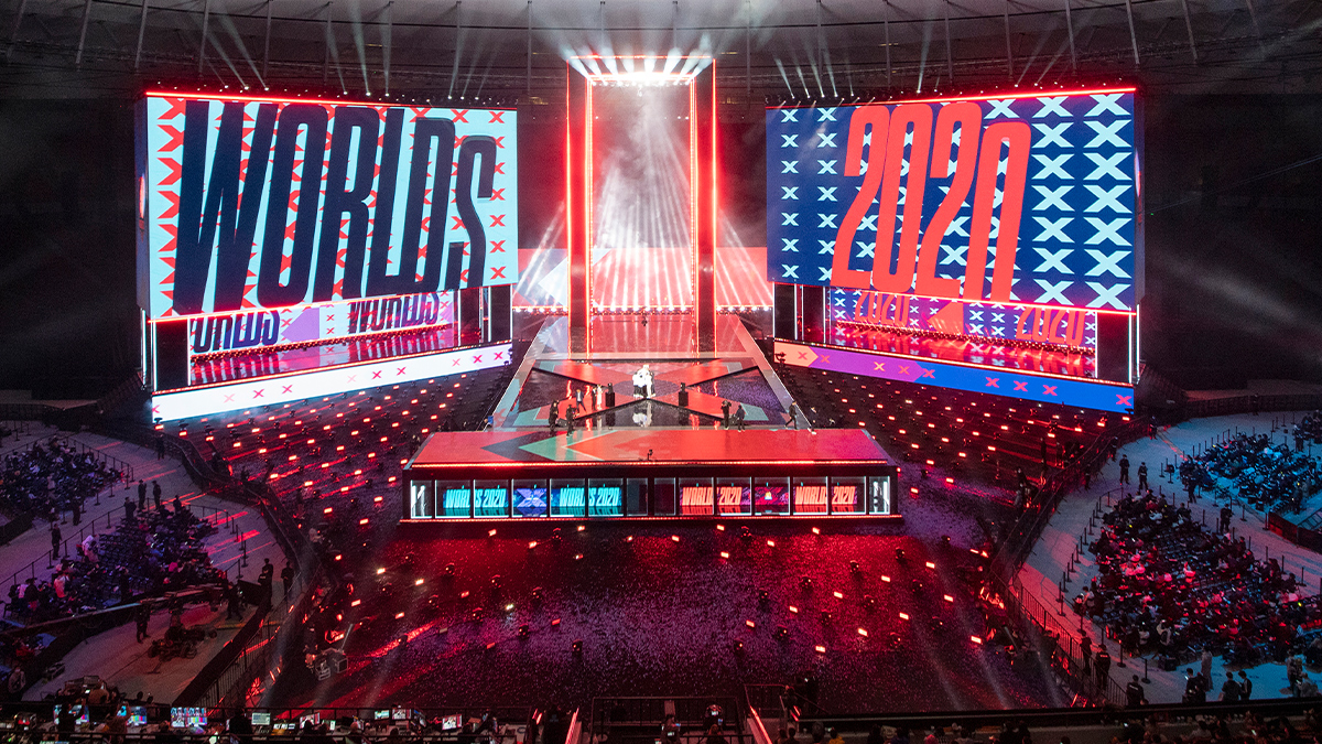 Cisco Riot Games Worlds 2020