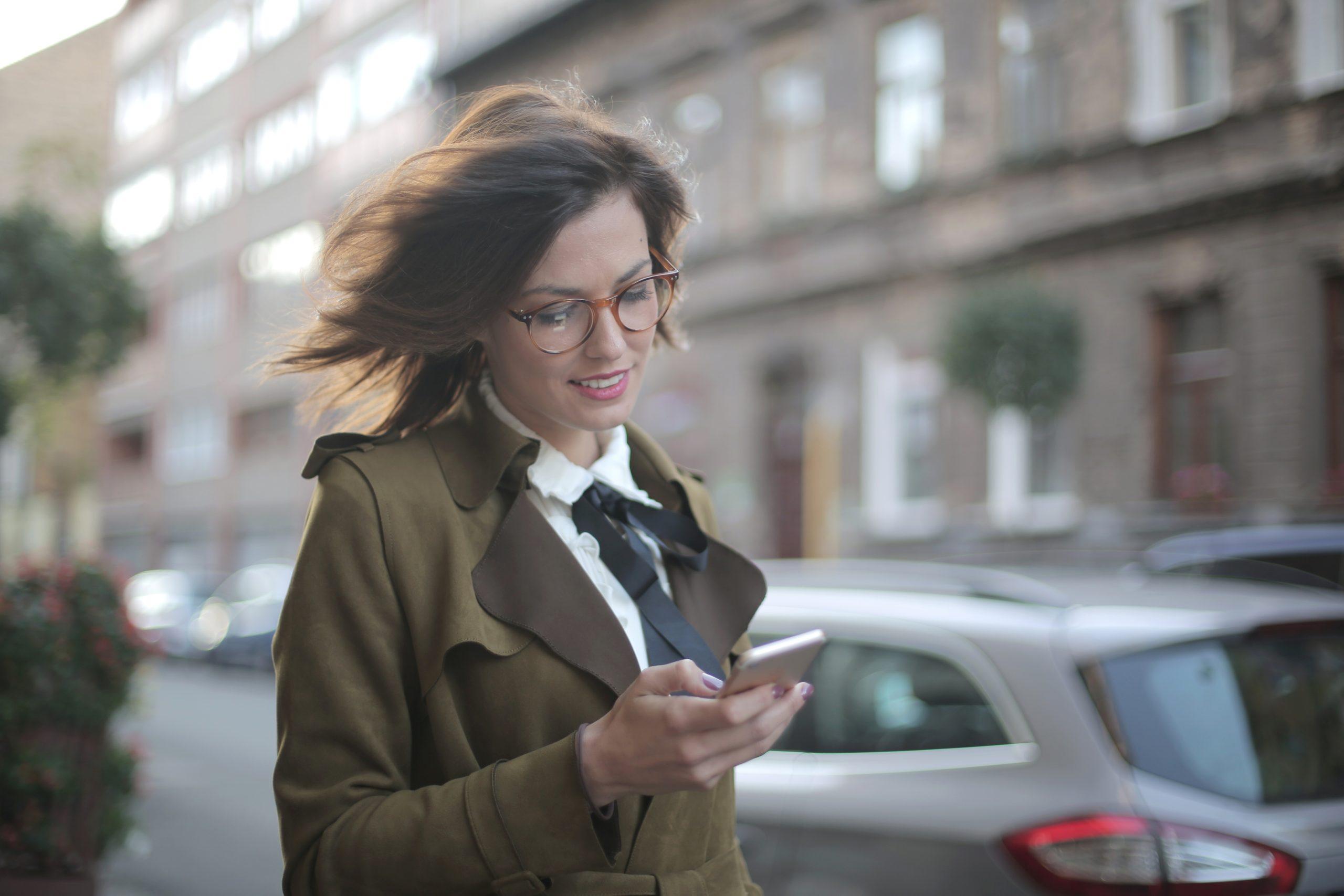 smartfon, SMS