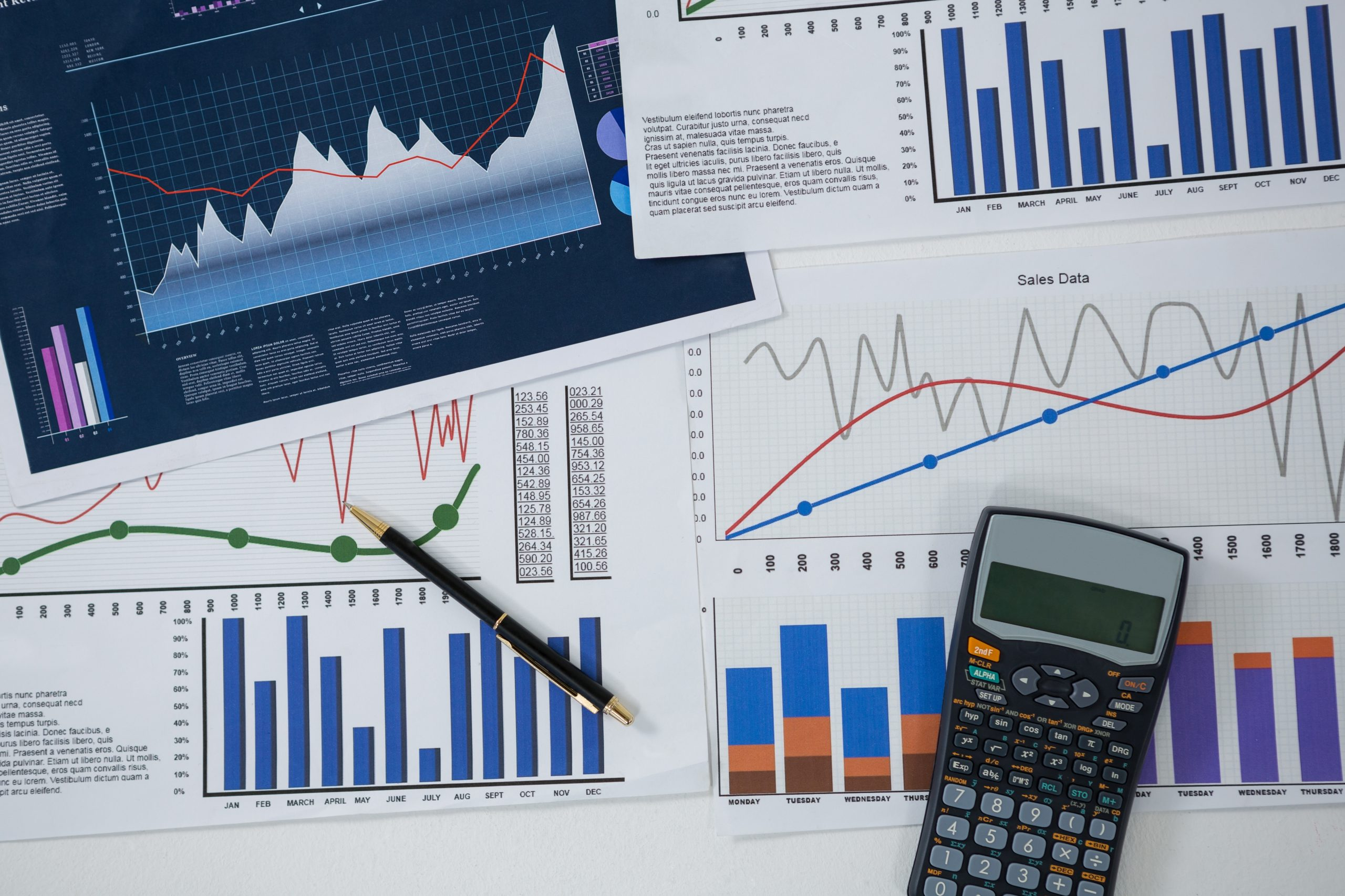 wykres, giełda, finanse