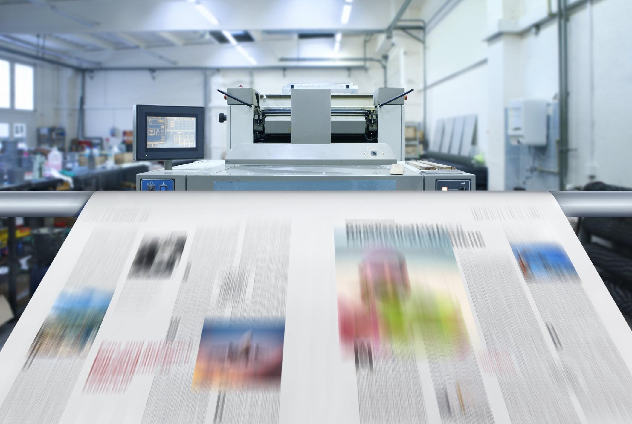 druk, prasa, gazeta