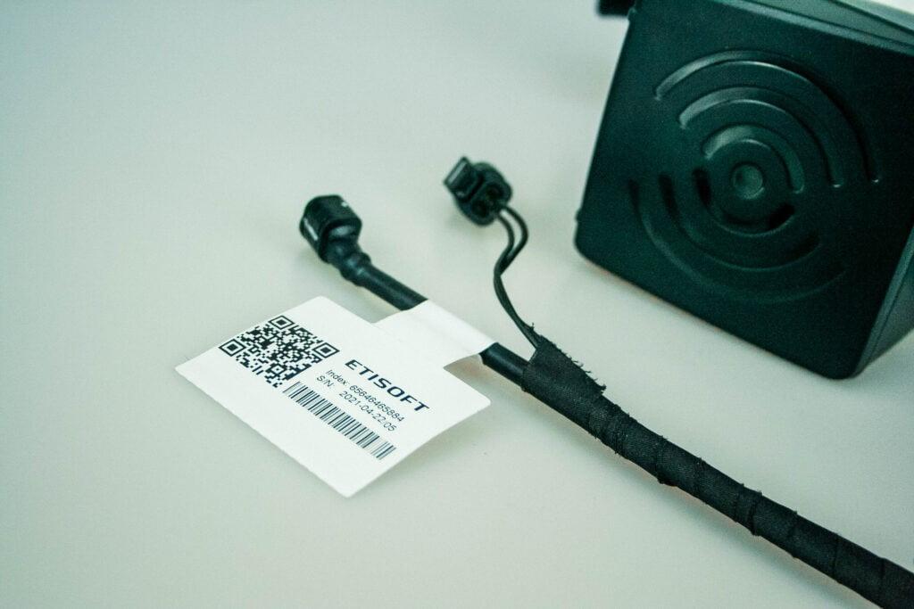 Etykiety, RFID