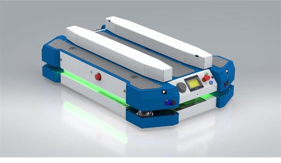 robot, wdrożenie robota AGV