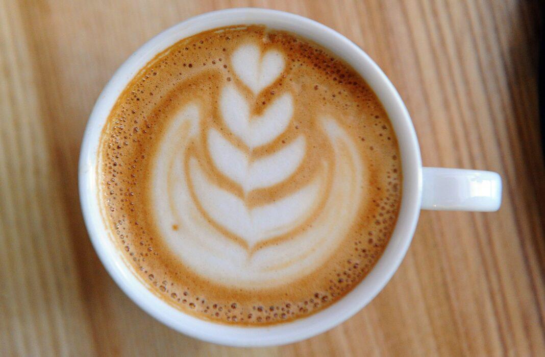 mózg, kawa