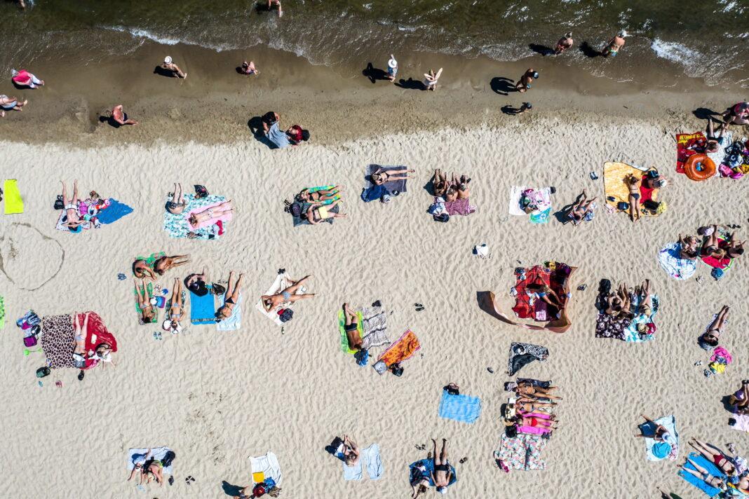 Ozdoba, plaża
