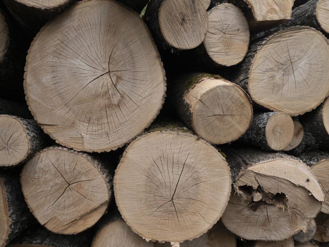 Siarka, drewno